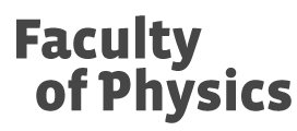 Faculty of Physics at the University of Warsaw logo